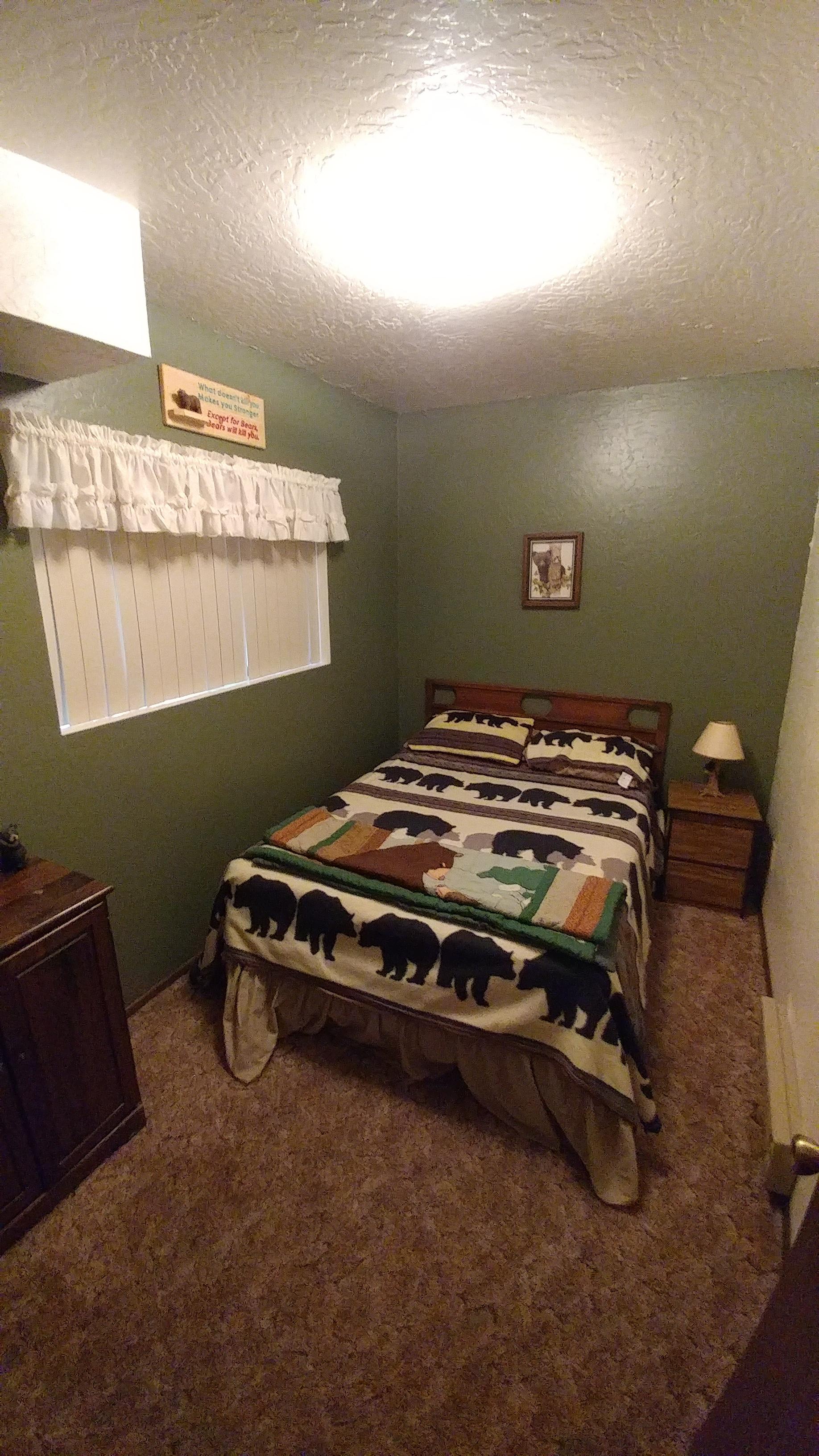 Downstairs Bedroom-Bear