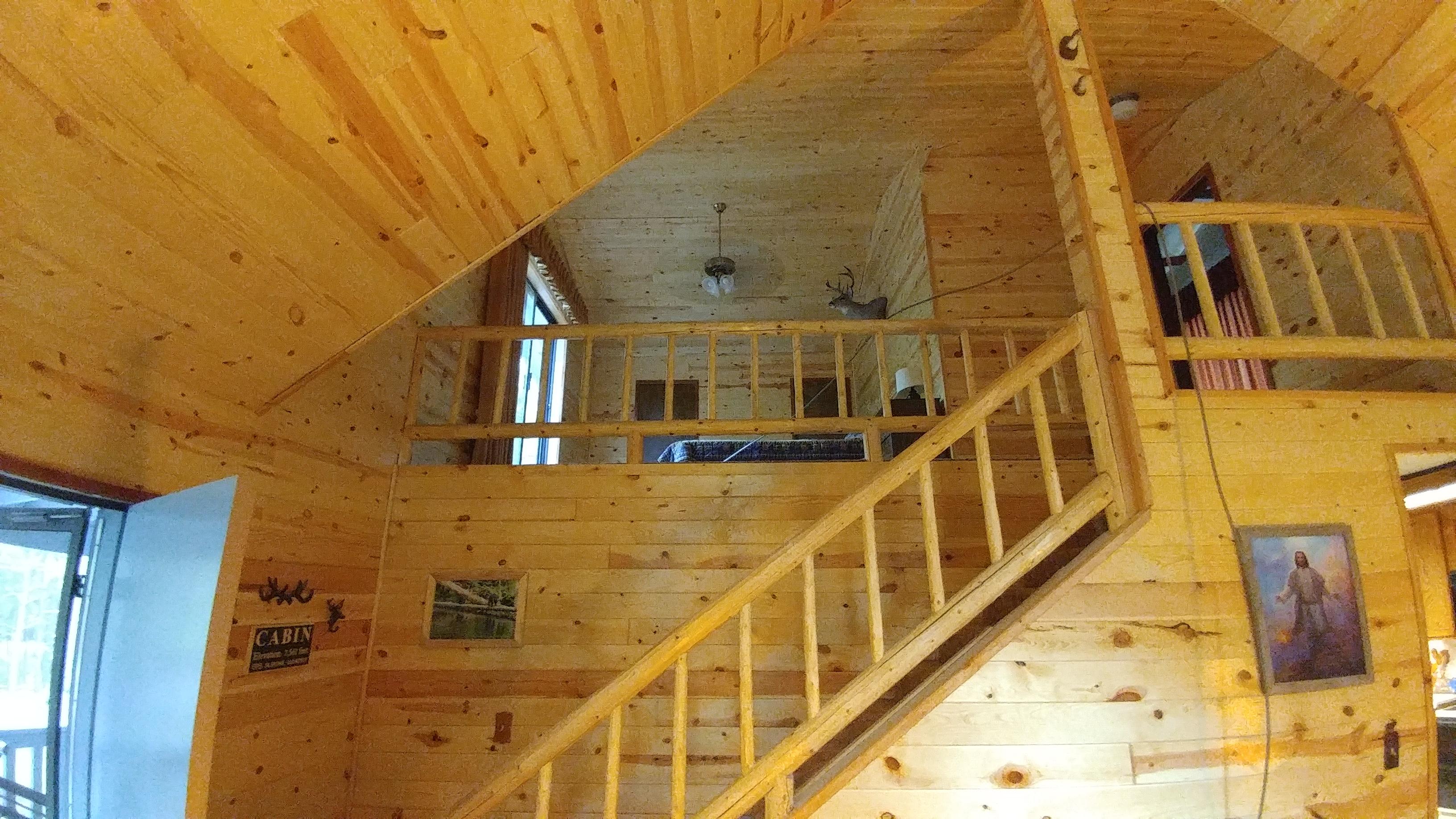 Main Floor Looking into Loft